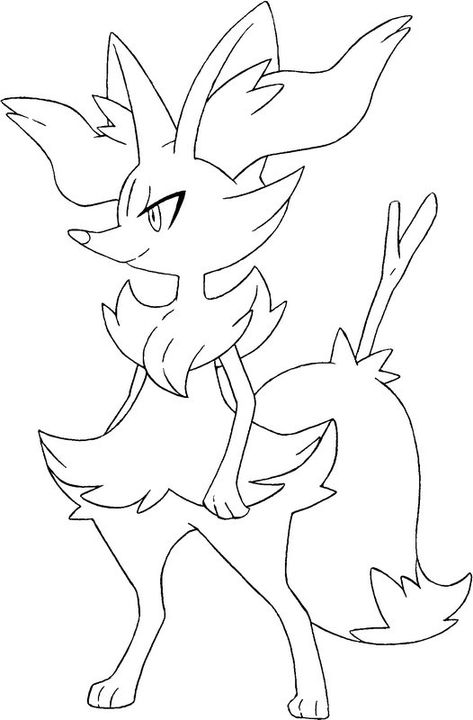 30 Coloriage Xerneas Nouveau Pokemon Coloring Pokemon Sketch
