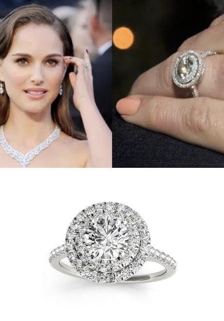 Double Halo Round Diamond Engagement Ring 14k White Gold 1 38ct In 2020 Round Diamond Engagement Rings Halo Rose Gold Morganite Ring Natural Diamond Engagement Ring
