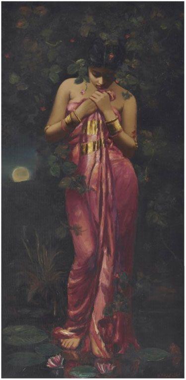 Famous ladies in erotic painting