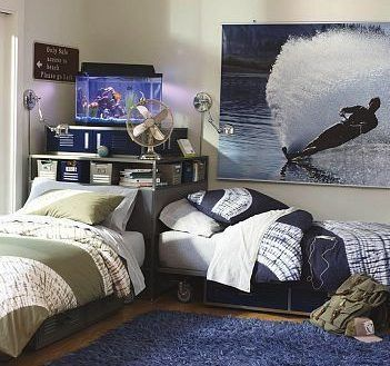 Interior Two Beds In Small Room Stylish 9 Best Twin Bed