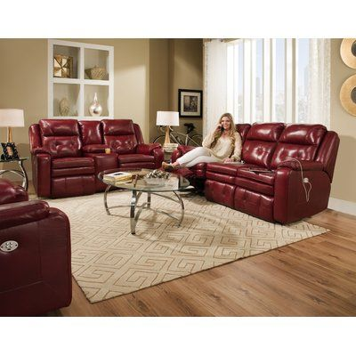 Relaxon Sabrina Leather Reclining Sofa Wayfair Living Room Sets Red Sectional Living Room Leather Couches Living Room