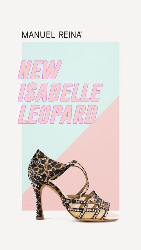 Nuevos Isabelle Competition Leopard Maravillosos Salsa