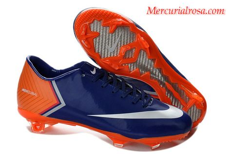 bfffe6cb6 Nike Mercurial Vapor X(10) FG Boots Midnight Blue Coral White Soccer Cleats