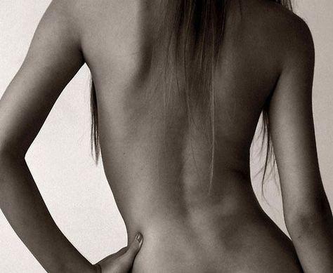 Подборка хорошеньких девушек, вид со спины