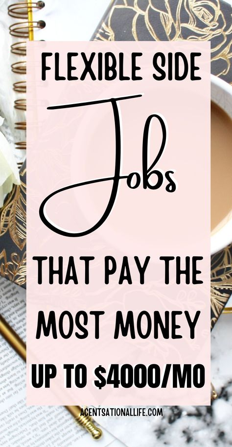 Easy Side Jobs That Pay Well - A CENTSational Life
