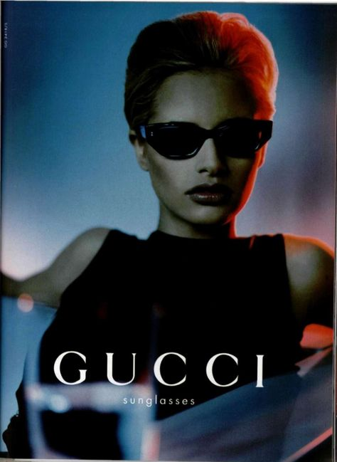 Erin Cummings by Luis Sanchez for Gucci S/S 1998 Fashion Advertising, Advertising Campaign, Brand Advertising, Gucci Fashion, Fashion Brands, Gucci Advertisement, Vintage Gucci, Vintage Fashion, Erin Cummings