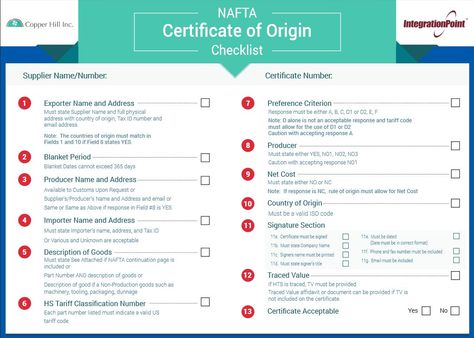 certificate of origin nafta - Google Search NAFTA certificate of - blank certificate of origin form