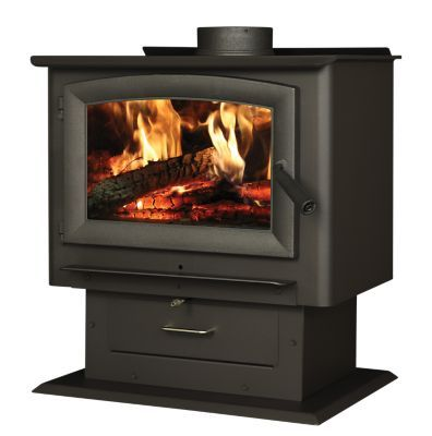 Us Stove Forester Pedestal Wood Stove 2 000 Sq Ft Coverage Blower Included Us2000e Bp At Tractor Supply Co Wood Stove Wood Burning Stove Fan Wood Burning Stove