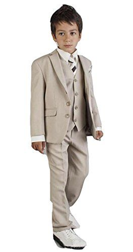 MLT Kids Custom Made Three Pieces Wedding Party Boys Suits