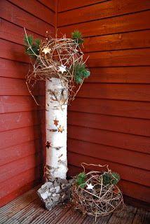 Holz Deko Aussen Weihnachten Content