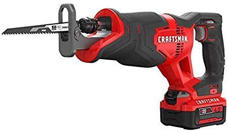 Craftsman V20 Reciprocating Saw Cordless Kit Cmcs300m1 With Images Craftsman Tools Craftsman Cordless Power Tools