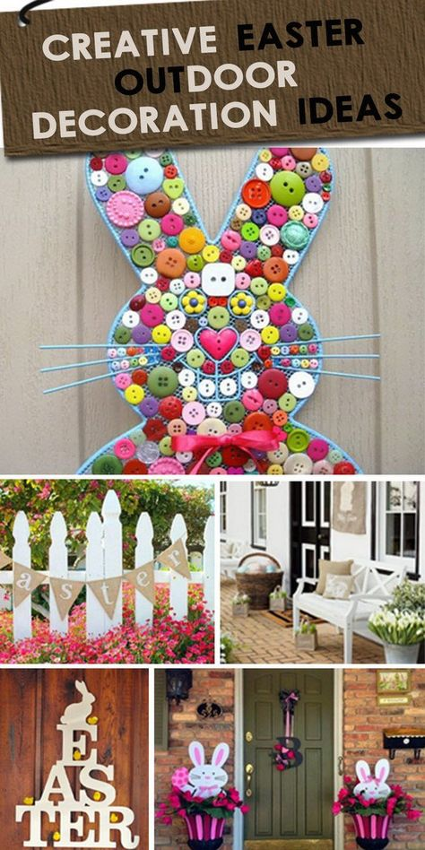 Creative Easter Outdoor Decoration Ideas Light Up The Spring Season