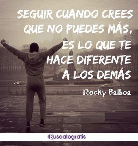 Frases Motivadoras De Rocky Para Entrenar Frases