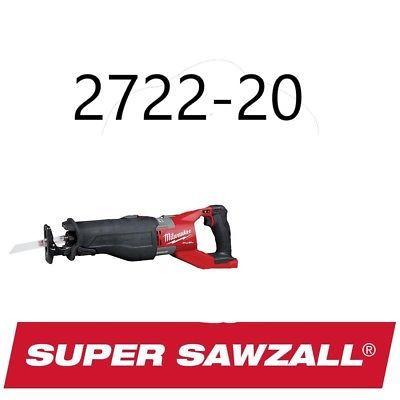 Reciprocating Saws 20788 Milwaukee 2722 20 M18 Fuel Super Sawzall Reciprocating Saw Replaces 2721 20 2018 Buy It Reciprocating Saw Milwaukee Milwaukee M18