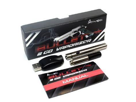 The Atmos Bullet 2 Go is absolutely the most stealthy and low priced vape pen for sale on the market.  This vaporizer pen supplies concealment and speed that can't be rivaled by any other vape pen in the marketplace.