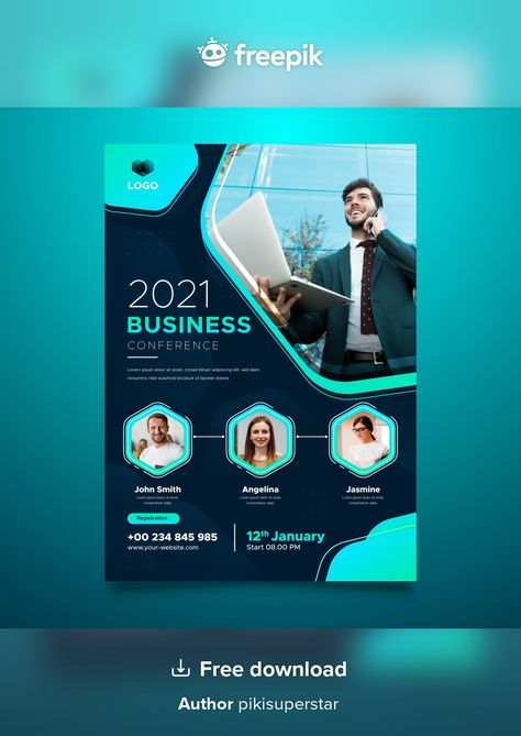 Download Webinar Flyers Template for free