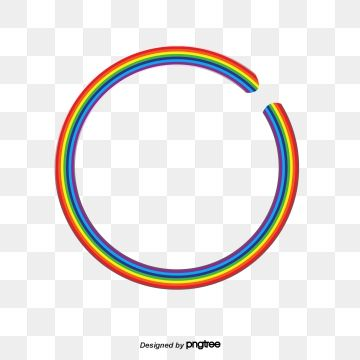 Png Rainbow Circle Rainbow Png Rainbow Clipart Circle Clipart