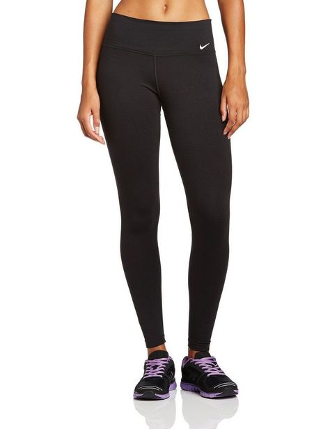 Womens Nike Legend 2.0 Tight Dri Fit Pants 548511-010 Black Size Small  Nike 3c5b7bf952