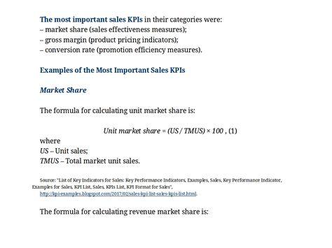 kpi in sales