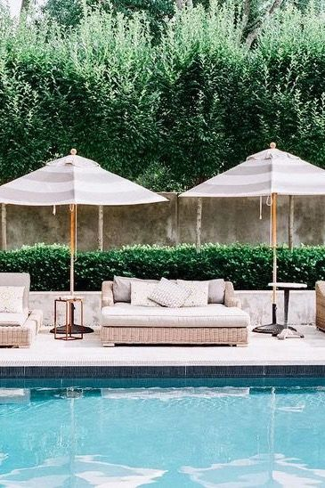 Pin by Juliette on Exteriors / Yards in 2019 | Pool house ...
