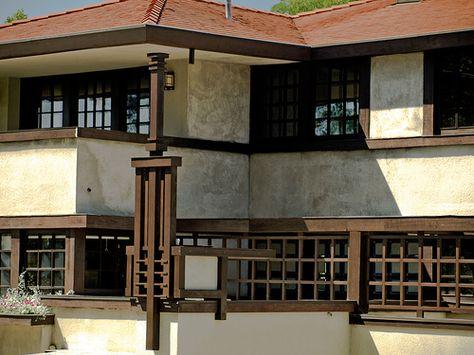 Westcott House - Frank Lloyd Wright