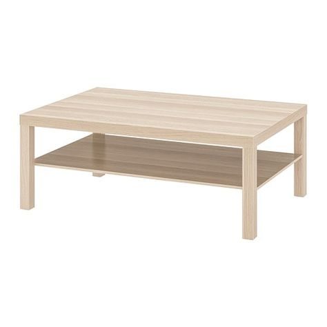 Lack Coffee Table White Stained Oak Effect 46 1 2x30 3 4
