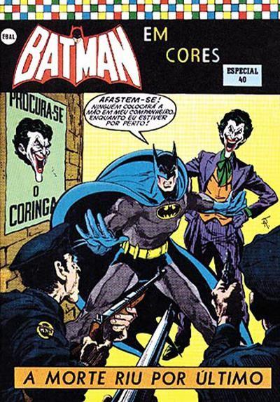 Cover For Batman Edicao Especial Em Cores Editora Brasil