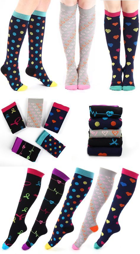professional sale cheap prices crazy price Designer Compression Socks - Support Stockings ~ Reduce ...