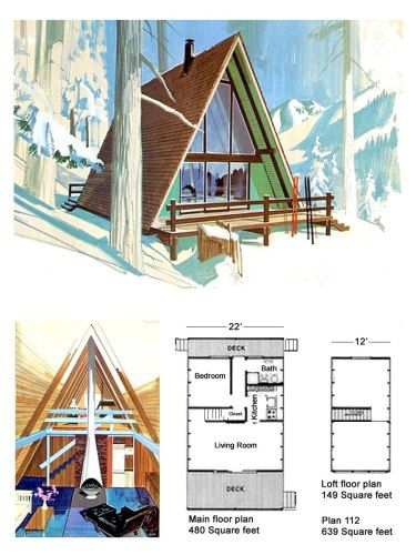 Classic Design For A Low Budget A Frame Project Small House A Frame Cabin Plans A Frame Floor Plans A Frame House Plans