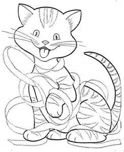 Easy Cat Face Coloring Coloring Pages Coloring Pages Cat