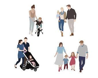 Personalized Illustration Etsy Vector Illustration People People Illustration People Png