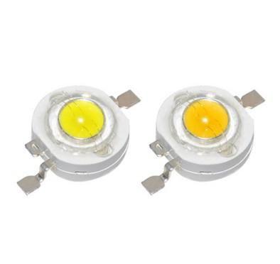 50pcs 1w 3w High Power Led Lamps White Warm White 30mil 45mil Chips High Light Lights Led Diodes Led Diy Power Led