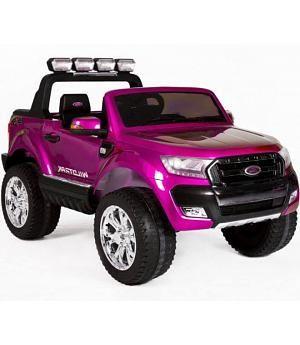 Coche Electrico Infantil Ford Ranger Rosa 4 Motores Coches De