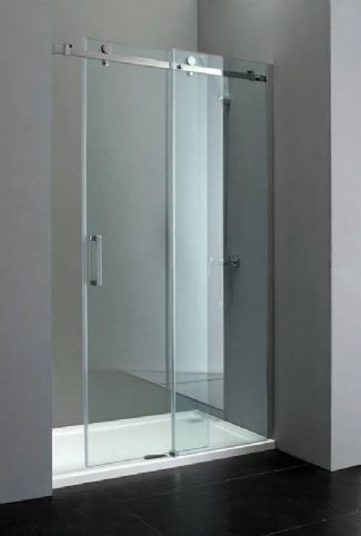 Elite 1000mm Frameless Sliding Shower Door 8mm Glass Sliding Shower Door Frameless Sliding Shower Doors Shower Doors