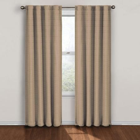 Eclipse Loop Blackout Thermal Window Panel Walmart Com Eclipse Curtains Panel Curtains Thermal Blackout Curtains
