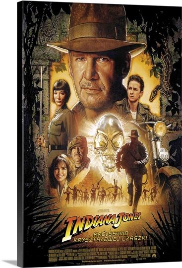 Indiana Jones And The Kingdom Of The Crystal Skull 2008 In 2020 Indiana Jones Crystal Skull Adventure Movies
