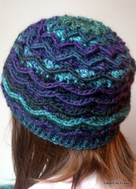 Ziggy Hat - Free crochet pattern