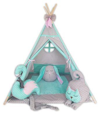 Namiot Dla Dzieci Tipi Mata Poduszki Bajkowe 7883467654 Oficjalne Archiwum Allegro Baby Seat Kids Seating Baby