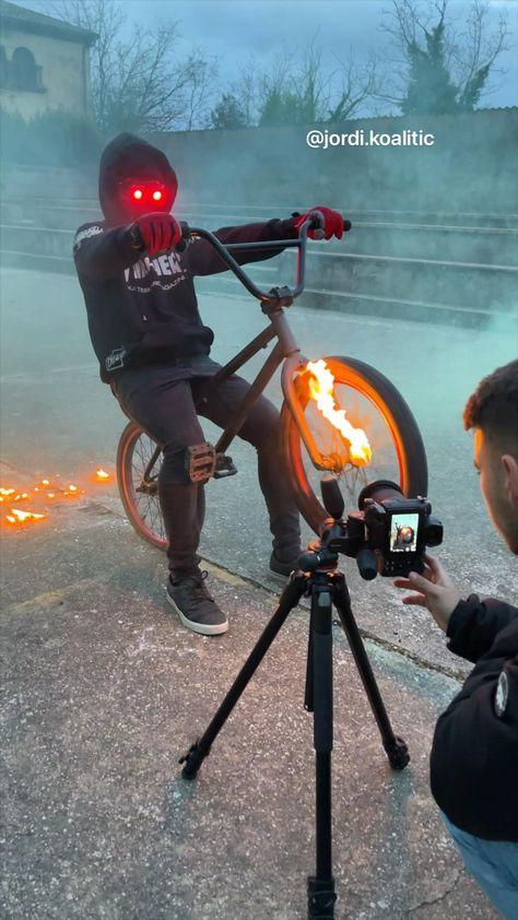 Ghost Rider - @jordi.koalitic - Light Painting - Idea 15