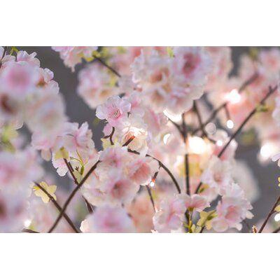 The Holiday Aisle Cherry Blossom Tree 288 Light Lighted Trees Branches Size 98 5 H Cherry Blossom Light Tree Cherry Blossom Bonsai Tree Cherry Blossom Tree