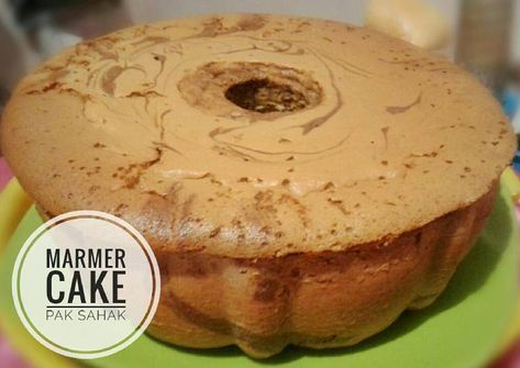 Resep Marmer Cake Jadul Pak Sahak All In One Methode Oleh Dian Nurindah Resep Kue Zebra Makanan Makanan Manis