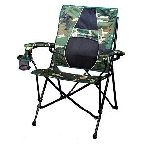 Heavy Duty Padded Folding Camp Chairs Outdoor Camping Quad Chairs
