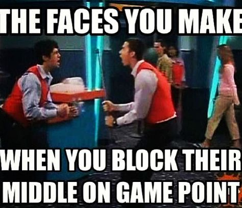 Drake and Josh. Hahaha I miss this show! Volleyball Jokes, Volleyball Problems, Volleyball Hitter, Volleyball Gifts, Coaching Volleyball, Rick Riordan, Drake And Josh, Only Play, Thing 1