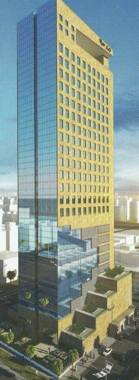 فندق الأعمال مقترح التحليه Skyscraper Building Structures