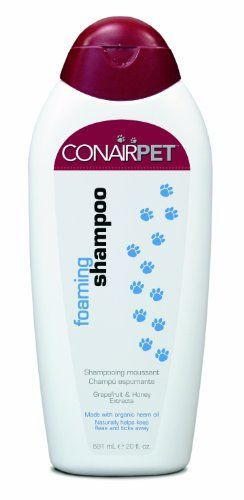 Conairpet Foaming Shampoo With Grapefruit And Honey Extracts For Cats And Dogs Flea And Tick Control 20 Fluid Ounce In 2020 Herbal Shampoos Shampoo Flea And Tick