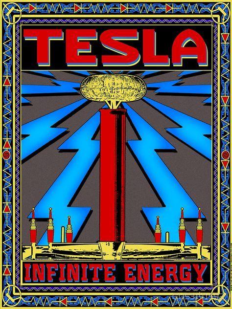 Tesla Coil Unendliche Energie Sticker Von Gus3141592 Tesla Tesla Coil Nicolas Tesla