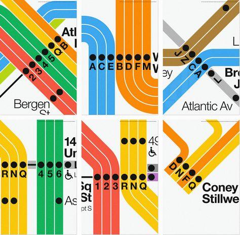 superwarmred waterhouse cifuentes massimo vignelli new york city subway diagram moma designboom