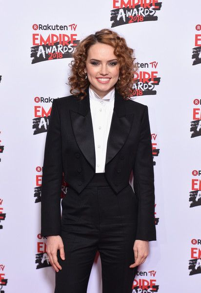 Actress Daisy Ridley attends the Rakuten TV EMPIRE Awards 2018.
