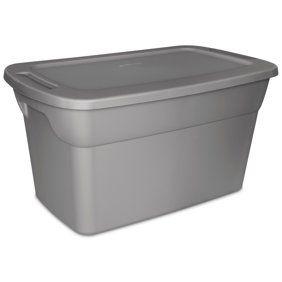 Moving storage bins