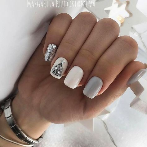 40 Amazing Christmas Nail Art Design Ideas | Ecemella